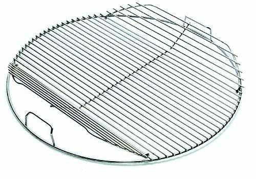 weber grillrost f r holzkohlegrills mit 57cm klappbar. Black Bedroom Furniture Sets. Home Design Ideas