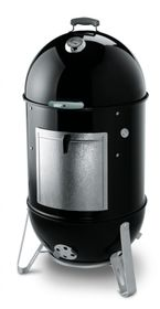 Weber Smokey Mountain Cooker 57cm, Black Edition 2017