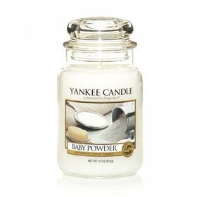 Yankee Candle Baby Powder, großes Glas
