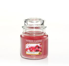Yankee Candle Cranberry Ice, mittleres Glas