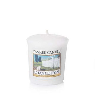Yankee Candle Clean Cotton, Votivkerze