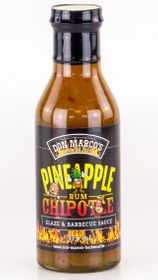 DON MARCO'S Glaze & BBQ Sauce Pineapple/Chipotle/Rum 375ml