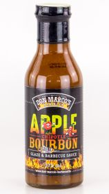 DON MARCO'S Glaze & BBQ Sauce Apple/Chipotle/Bourbon 375ml