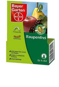 Bayer Raupenfrei 8 ml (4 x 2 ml)