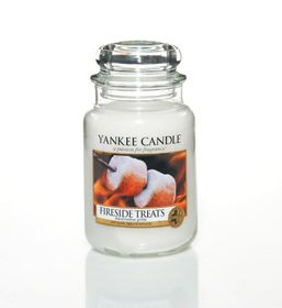 Yankee Candle Fireside Treats, großes Glas