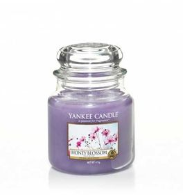 Yankee Candle Honey Blossom, mittleres Glas