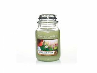 Yankee Candle A Childs Wish, großes Glas