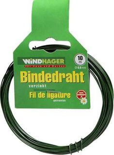 Windhager Gartendraht 10 m / 0,8 mm