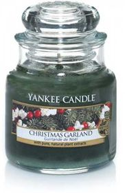 Yankee Candle Christmas Garland, kleines Glas
