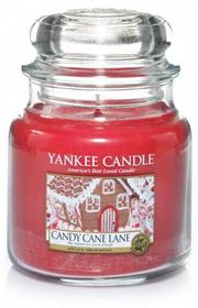 Yankee Candle Candy Cane Lane, mittleres Glas