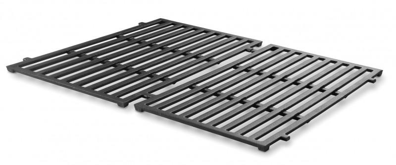 weber grillrost set spirit 200 serie ab 2013 gusseisern emailliert 2 teilig. Black Bedroom Furniture Sets. Home Design Ideas