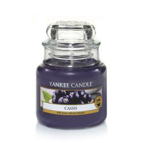 Yankee Candle Cassis, kleines Glas