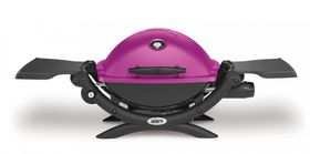 Weber Q 1200, Limited Fuchsia Edition