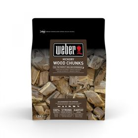 Weber Wood Chunks Hickory, 1,5kg