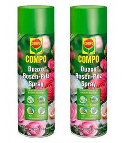 COMPO Duaxo® Rosen-Pilz Spray 800 ml Vorteilspack (2×400ml)