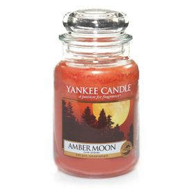 Yankee Candle Amber Moon, großes Glas