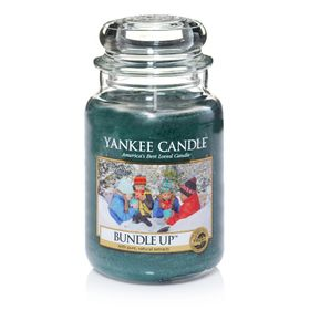 Yankee Candle Bundle Up, großes Glas