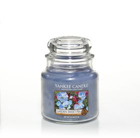 Yankee Candle Garden Sweet Pea, mittleres Glas