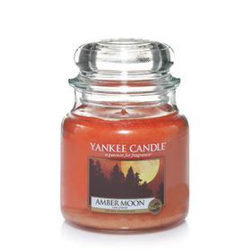 Yankee Candle Amber Moon, mittleres Glas