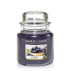 Yankee Candle Cassis, mittleres Glas