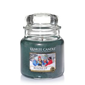 Yankee Candle Bundle Up, mittleres Glas