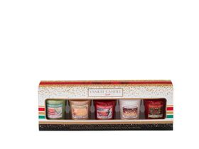 Yankee Candle Holiday Party Geschenkset, 5 Votivkerzen